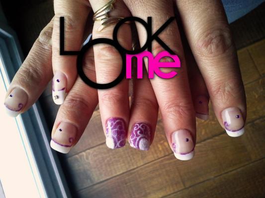 Arabesque violette